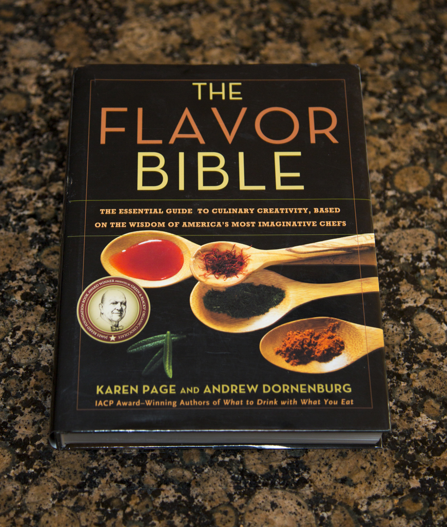 Get your own copy of The Flavor Bible   here .