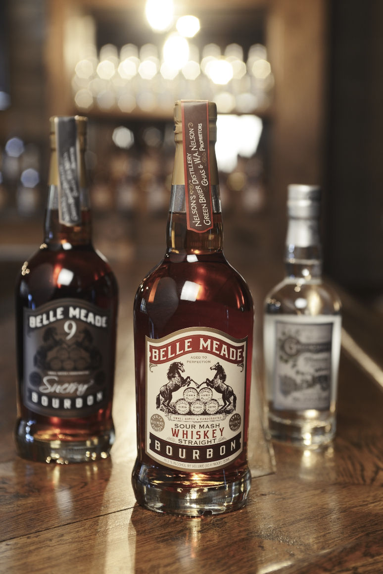 Nelson's Green Brier Distillery's current offerings