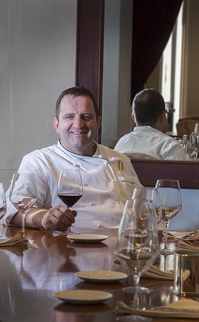 Newspaper boy turned chef, Donato Scotti