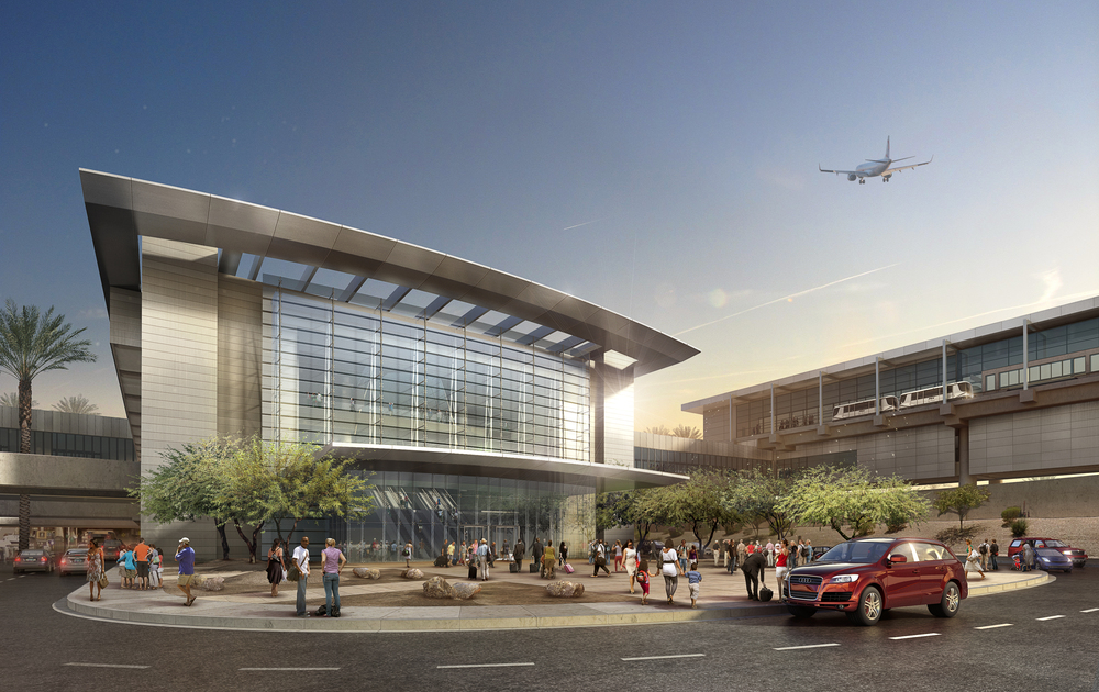 AIRPORT CONCEPT  Phoenix, AZ | I mage courtesy of HOK LA