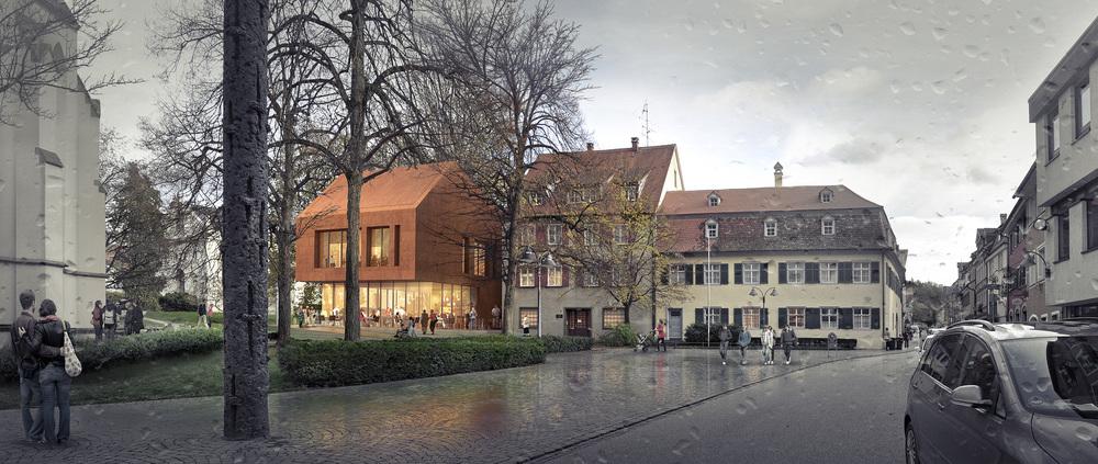 CATHOLIC CHURCH COMMUNITY CENTER  Ravensburg, Germany |  Image courtesy of wöhr heugenhauser architekten