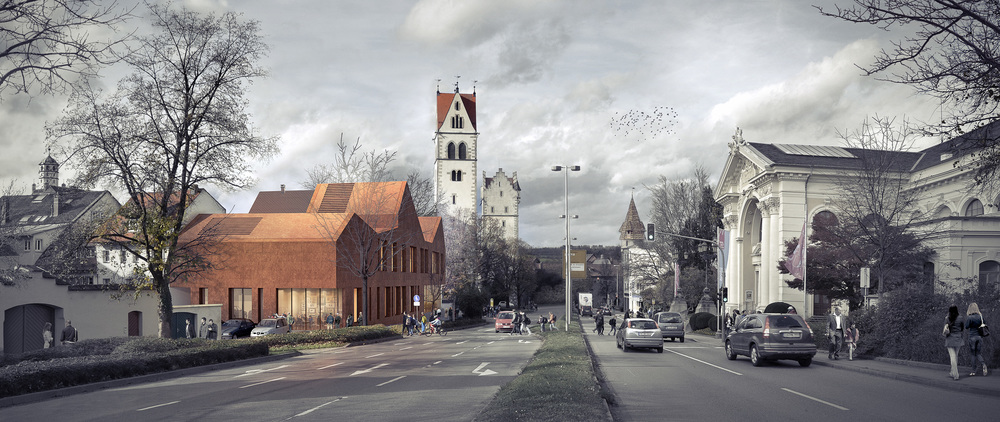CATHOLIC CHURCH COMMUNITY CENTER  Ravensburg, Germany |  Image courtesy of wöhr heugenhauser architekten