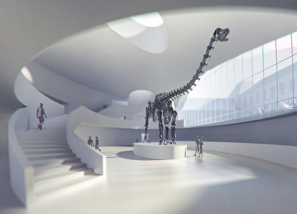 BAVARIA MUSEUM OF NATURAL HISTORY  Munich, Germany |  Image courtesy of wöhr heugenhauser architekten