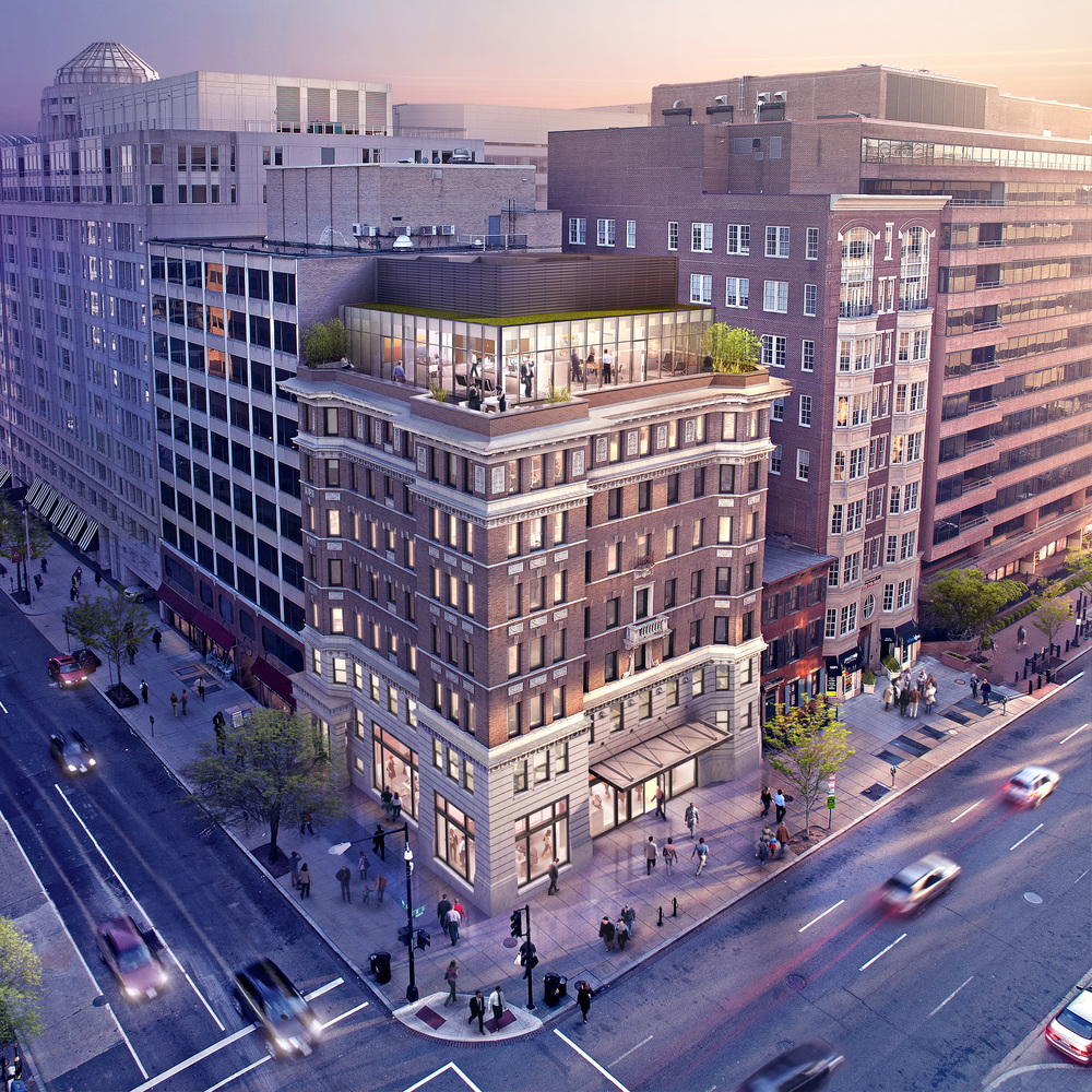 1800 EYE STREET NW  Washington, DC |  Image courtesy of Union Realty