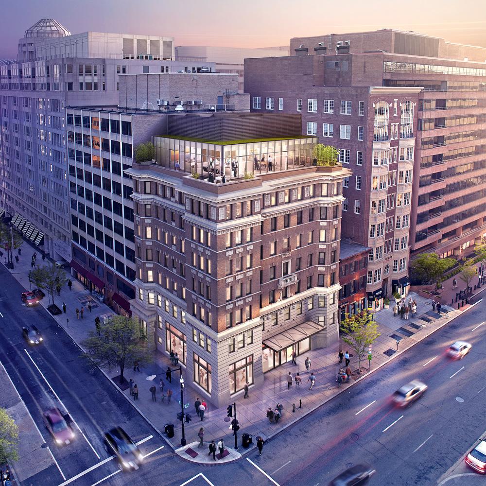 1800 EYE STREET NW  Washington, DC | Image courtesy of Union Realty