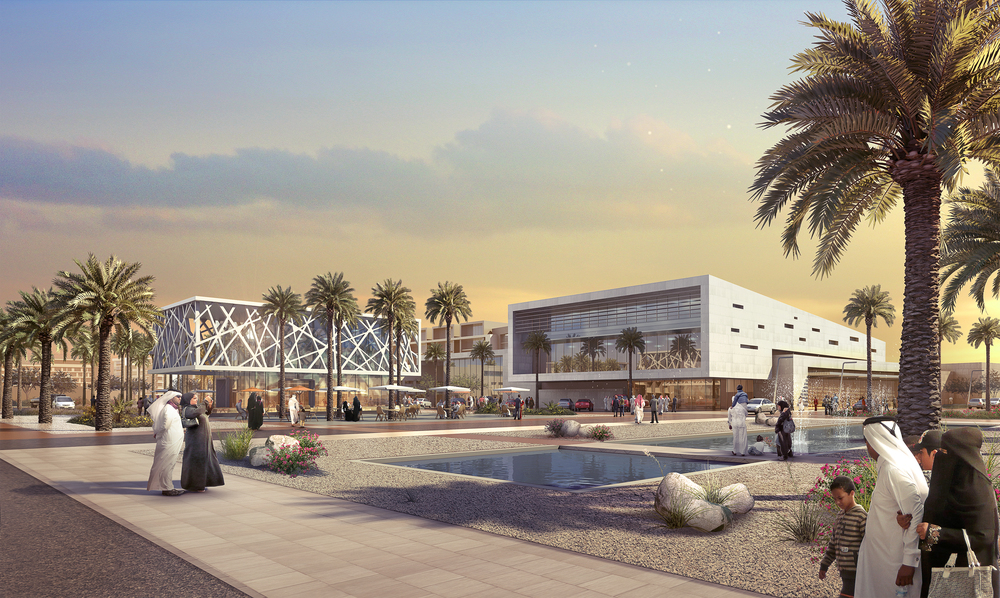 SOUTH DHAHRAN MASTER PLAN  Saudi Arabia |  Image courtesy of HOK DC