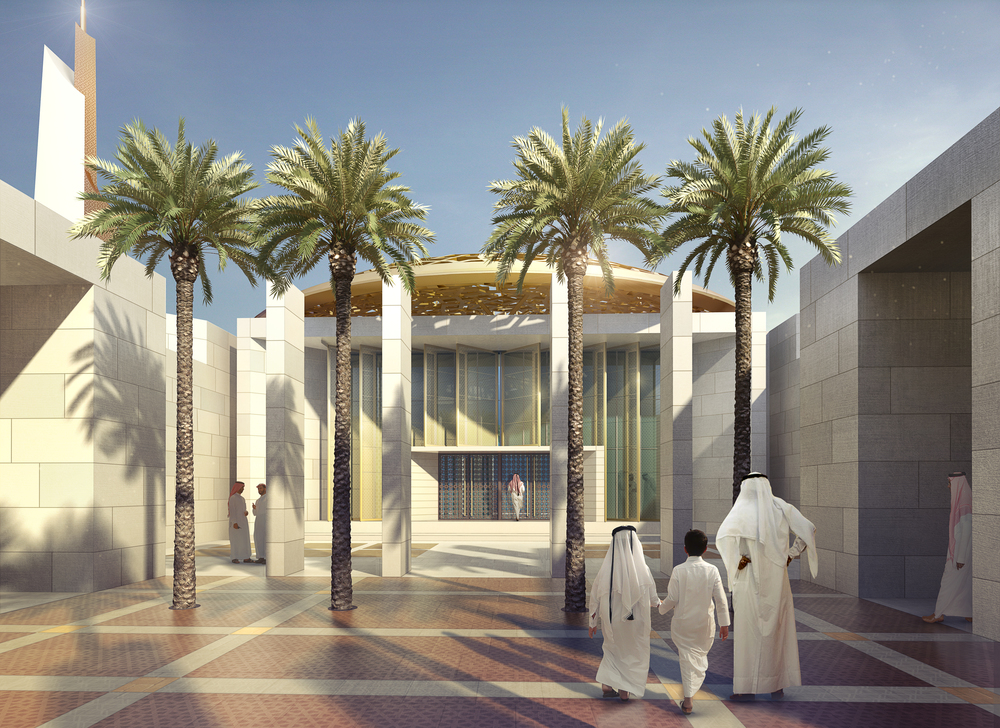 SOUTH DHAHRAN MASTER PLAN  Saudi Arabia   Image courtesy of HOK DC