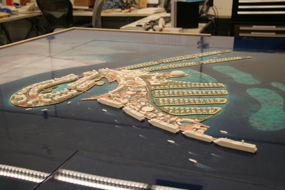 ORYX ISLAND CONCEPT  Doha, Qatar | Image courtesy of HOK DC