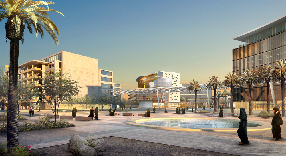 PRINCESS NOURAH BINT ABDULRAHMAN UNIVERSITY  Riyadh, Saudi Arabia | Client: HOK DC