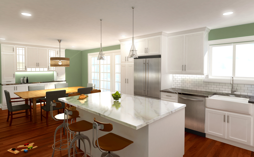 KITCHEN CONCEPT  Valley Forge, PA |  Client:  Homeowner
