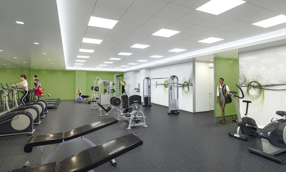 FITNESS CENTER   Fairfax, VA |  Client: HYL Architecture