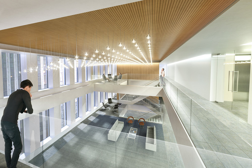 INTERIOR LOBBY CONCEPT   New York, NY |   Client:  HYL Architecture