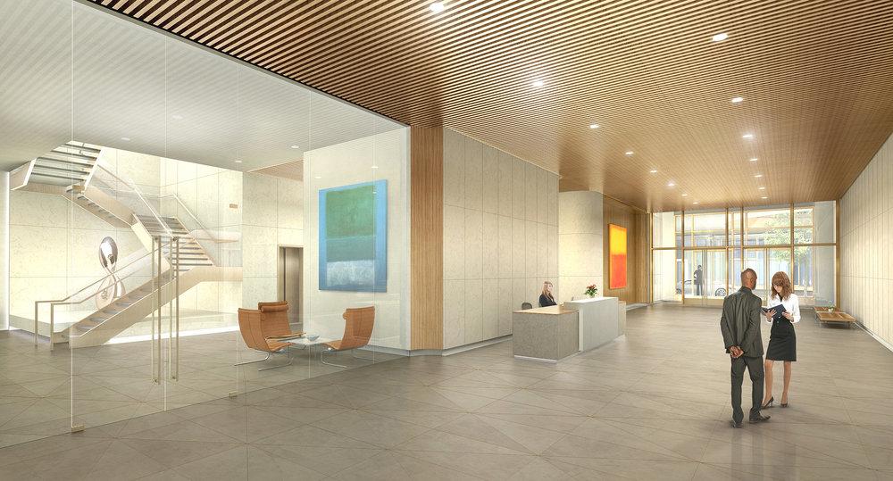 INTERIOR CONCEPT  Washington, DC |  Client: HYL Architecture