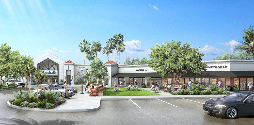 LAKESIDE CENTER CONCEPT  Boca Raton, FL    Client: Edens