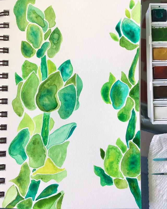 🌿#apageaday #ifandwhenworkshop