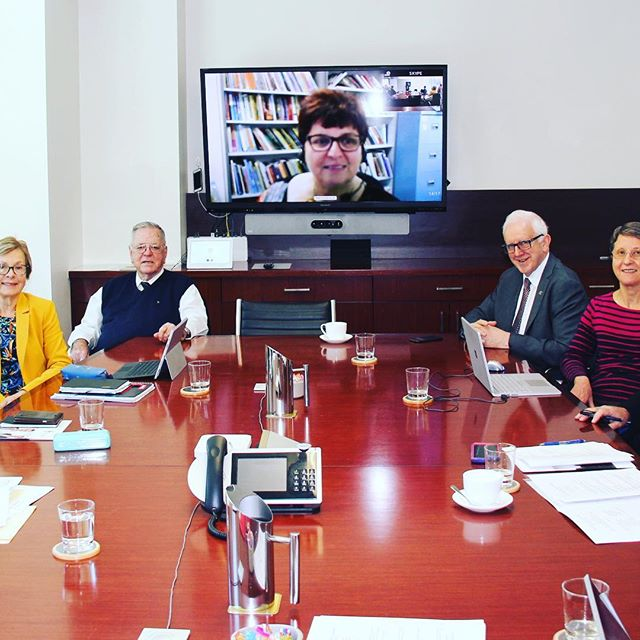 Our Marist Tertiary Committee met on 18 September 2018 focusing on developing online Marist Tertiary programs for 2019 #maristtertiary #wemarists