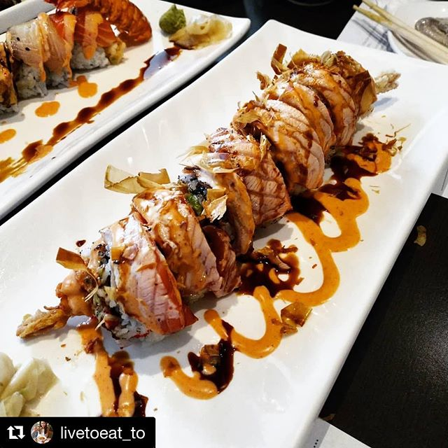 Another great photo by one of our guests! Thank you for the kind words as well!  #Repost @livetoeat_to with @get_repost ・・・ Some of the best sushi rolls I've ever had! This little family restaurant is small and pretty hidden but oh so good 😋😋 #livetoeatTO #toeats #toreats #torontofood #torontoeats #tofoodie #to_finest #blogTO #tofoodies #tastethesix #6ixfoods #6ixeats #torontolookbook #hypetoronto #richmondhill #markham #sushi #6ixsushi #torontosushi #japanese #markhamsushi #yongest