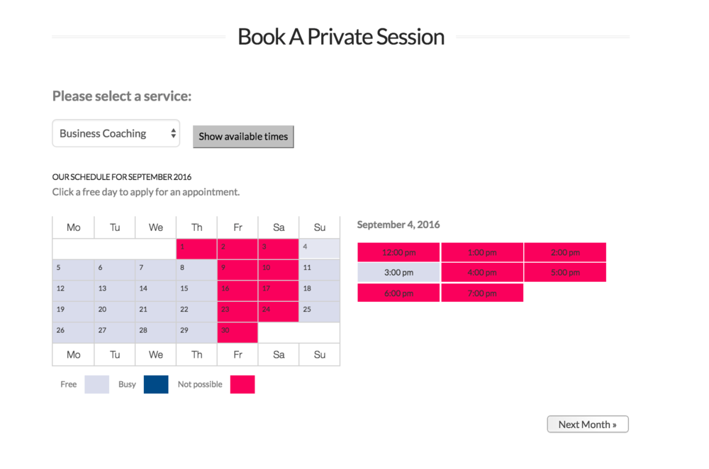 Automated Scheduling tool with 24/7 Digital Classrooms