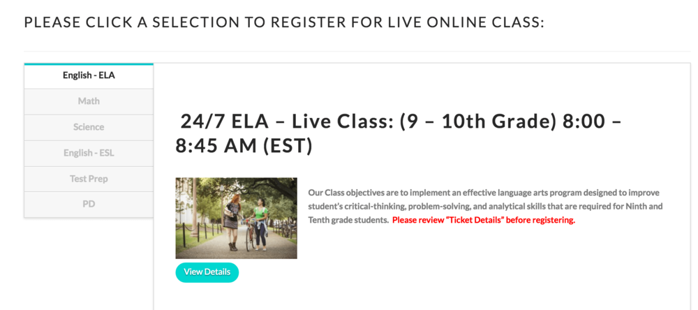 Offer access to your Live Classes - 24/7 Digital Classrooms