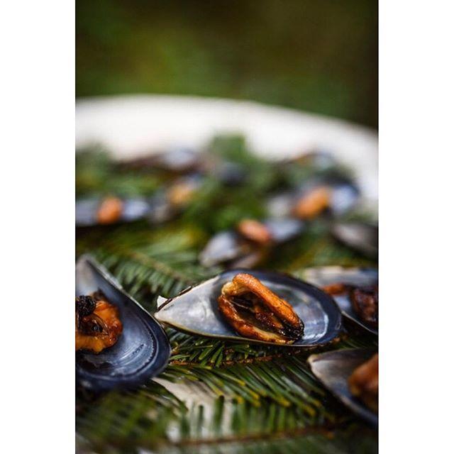 Dinner in the #redwoods @santabarbarabotanicgarden with @allheartrentals @barbareno_sb @carlyotnessphoto #fearlessphotographers #805 #sb #santabarbaraphotographer #barbareno #sbfood #foodphotography #instawed #sbweddings #centralcoast #mussels #yum #botanicalgardens #santabarbara #redwoods #redwoodforest #dinnerparty