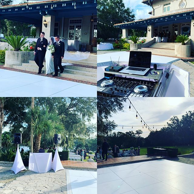 Congratulations to Megan & George, wish them the best on their new journey #truelove #Megan&George #_djlu #latintouchentertainment #PartyModeOn #DanceAllNight #Weddingtime