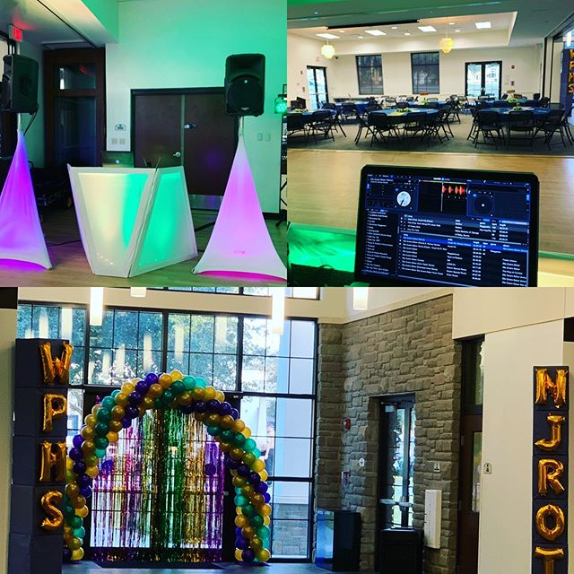 Ready to rock the Winter Park High's JROTC Military Ball #MardiGras #WPHS #JROTC #PartyModeOn #_DJLu #LatinTouchEntertainment #GoodTimes