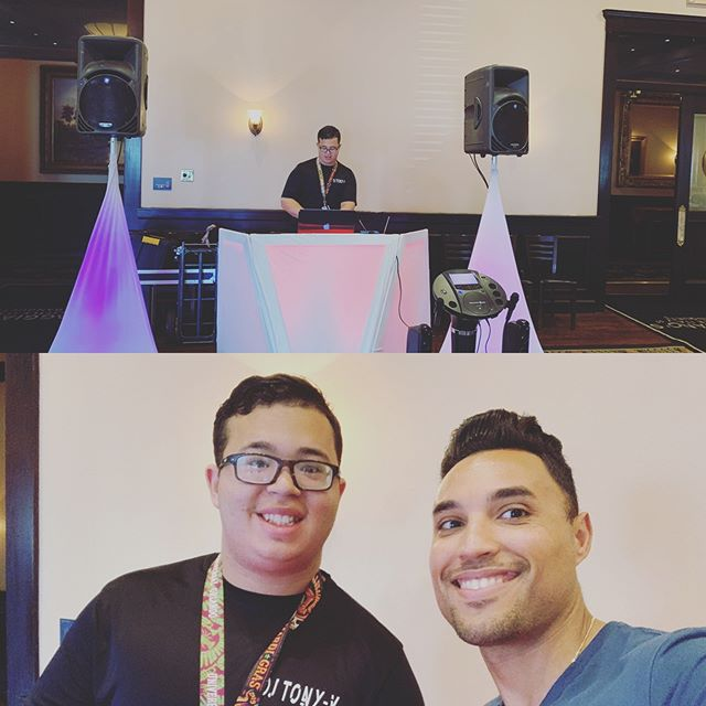 Maggiano's Little Italy Event #LetsParty #presidentsday #_djlu #dj_tonyv #Maggianos #latintouchentertainment