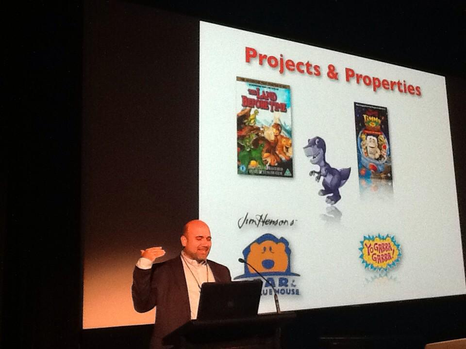 Michael Polis discussed creating content for children in Hollywood.