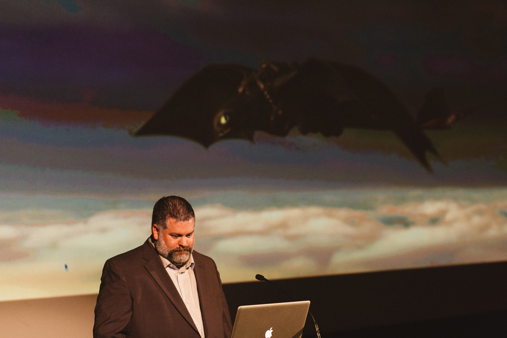 Dean DeBlois discussed the development of How to Train Your Dragon 2.