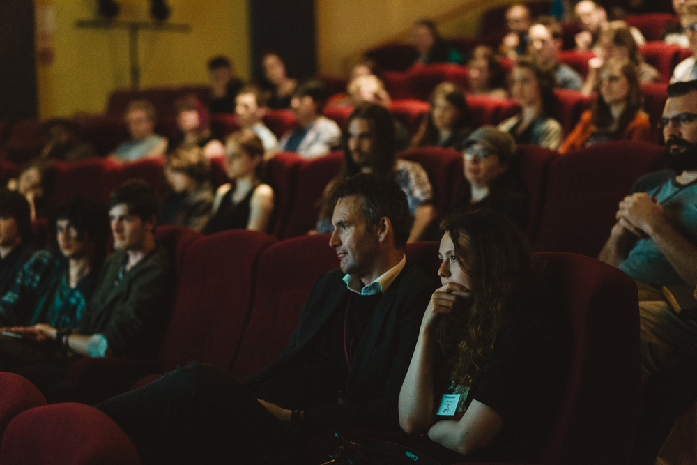 Audience at AnimfxNZ 2014.