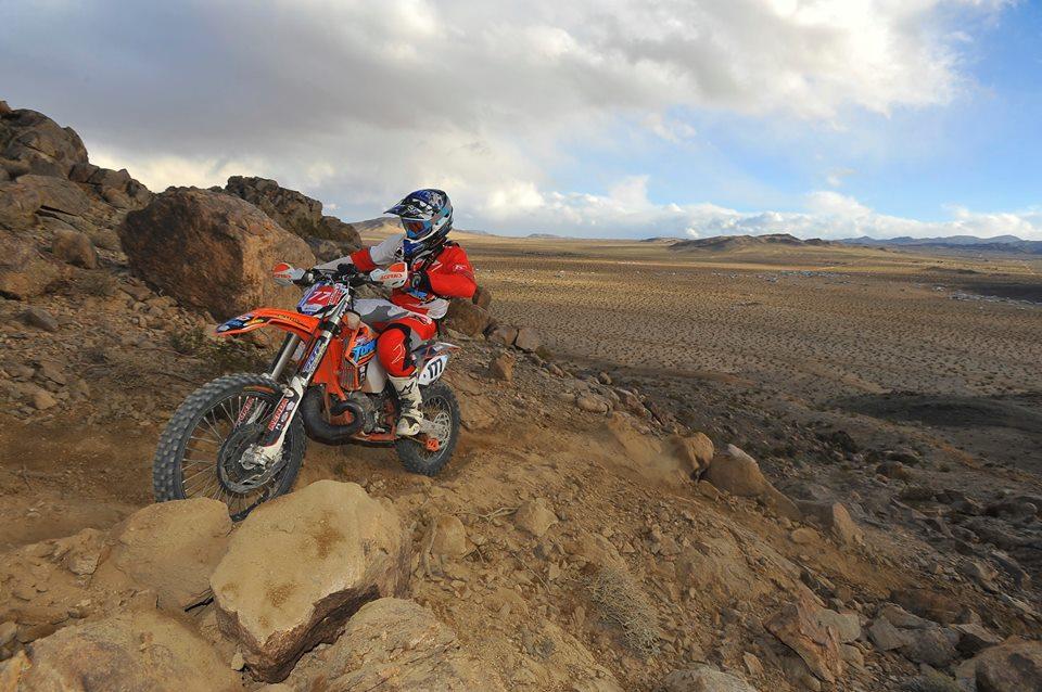 Photo: Mark Kariya (King of the Motos Race)