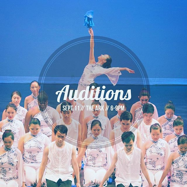 4 days left until our auditions! Can't wait to see you there
