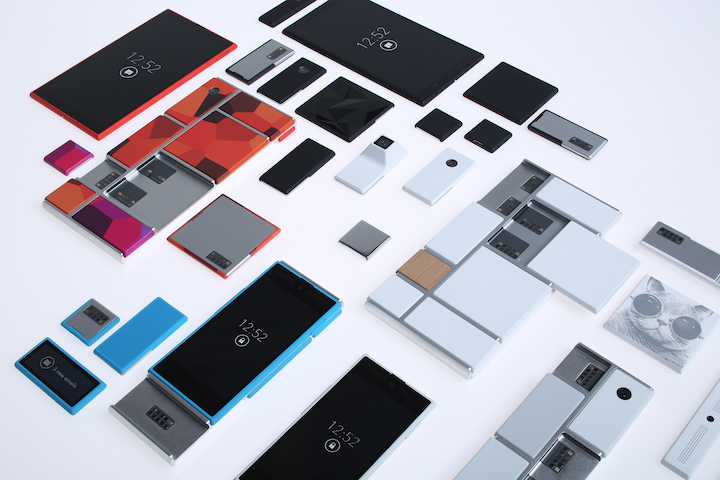 Google Project Ara was first announced in 2013 and now has a working prototype shown on 14 Jan, 2015.