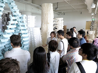 Organic patterned architecture  by robotic arms @ Future Cities Lab
