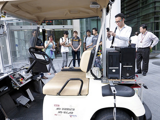 Driverless car/buggy @ SMART