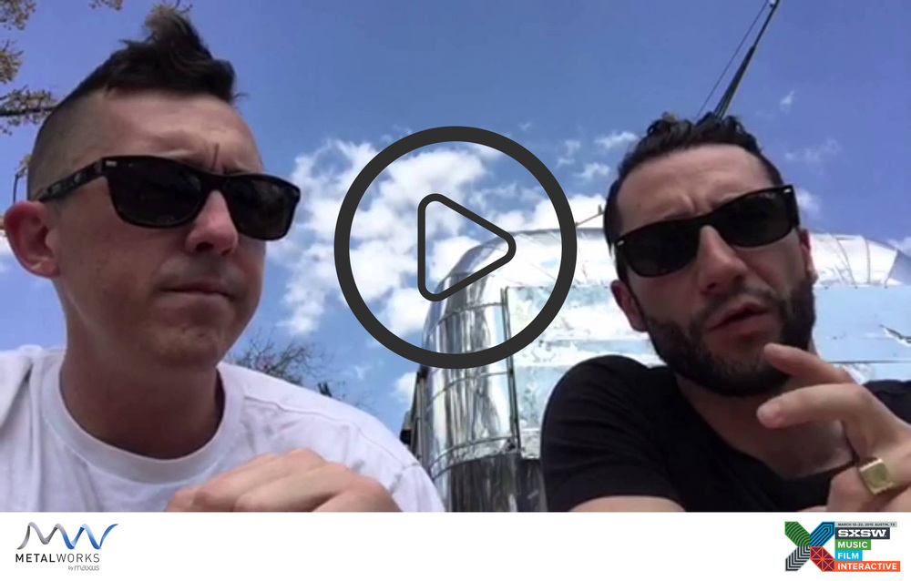 Tom Kelshaw, Director of Technology (Left) and Nico Abbruzzese, Global Director of Creative Technology (Right) reporting from Austin, Texas. What we saw at #SXSW2015 - Augmentation of the human body for medical and lifestyle needs.