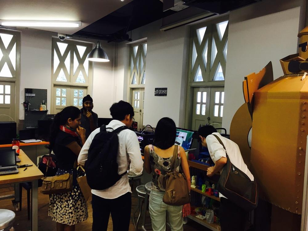 MakerBot 3D printing @ IDA Labs