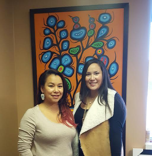 Executive Director, Tara Worme and Shinoah Young