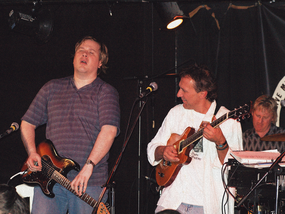 With Jeff Healey - event for the Fauna Foundation