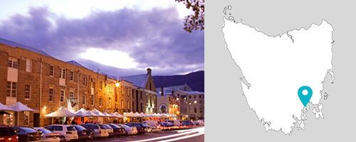 Salamance Place, Hobart, Tasmania