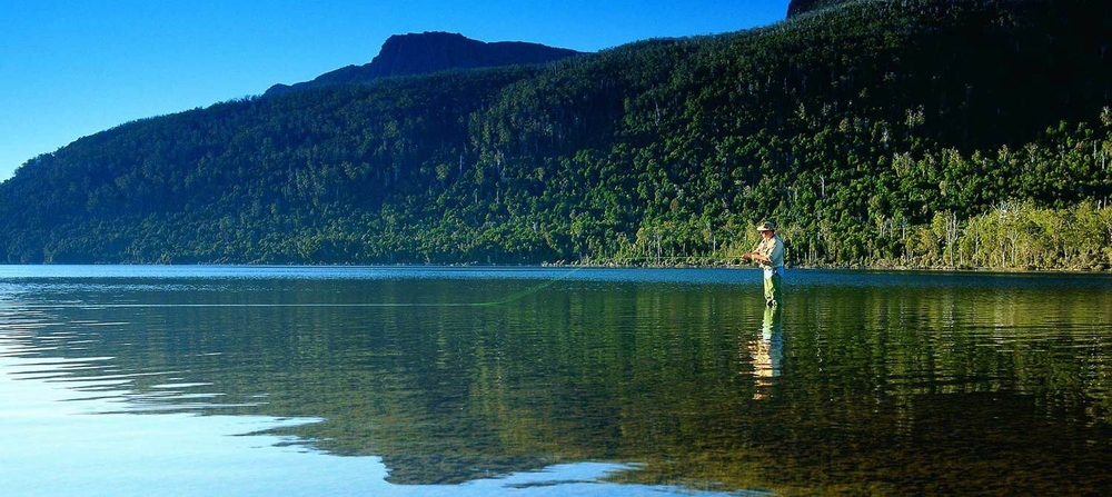 Fly Fishing, Tasmania