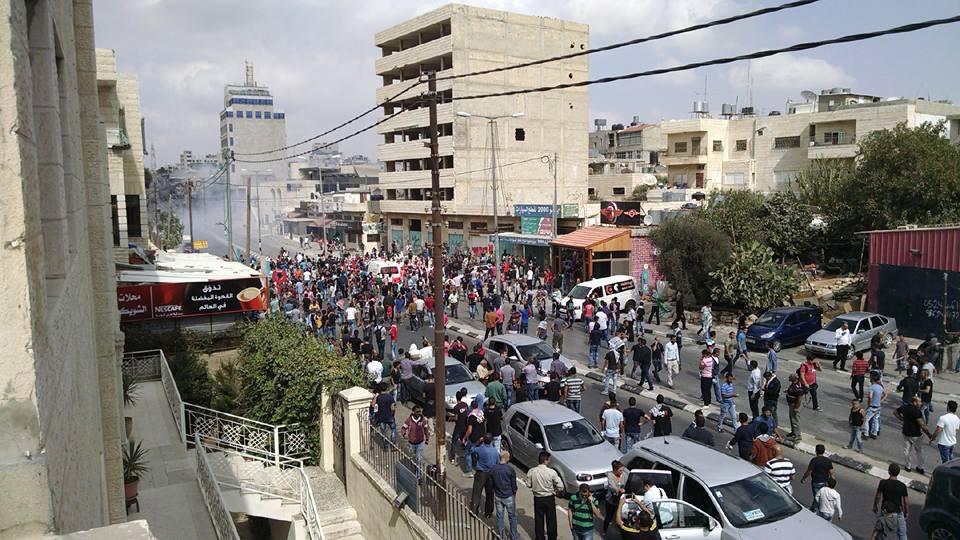 Rioting in Bethlehem