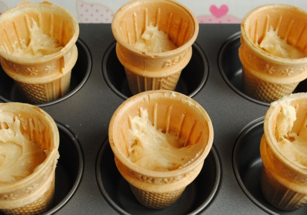 Ice Cream Cone Cupcakes How To