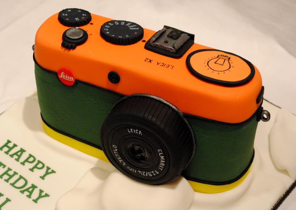 Leica Camera Cake
