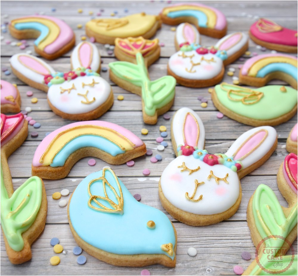 Sleeping Bunnies Iced Easter Biscuits