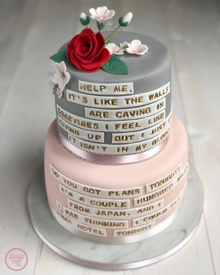 Shawn Mendes Birthday Cake