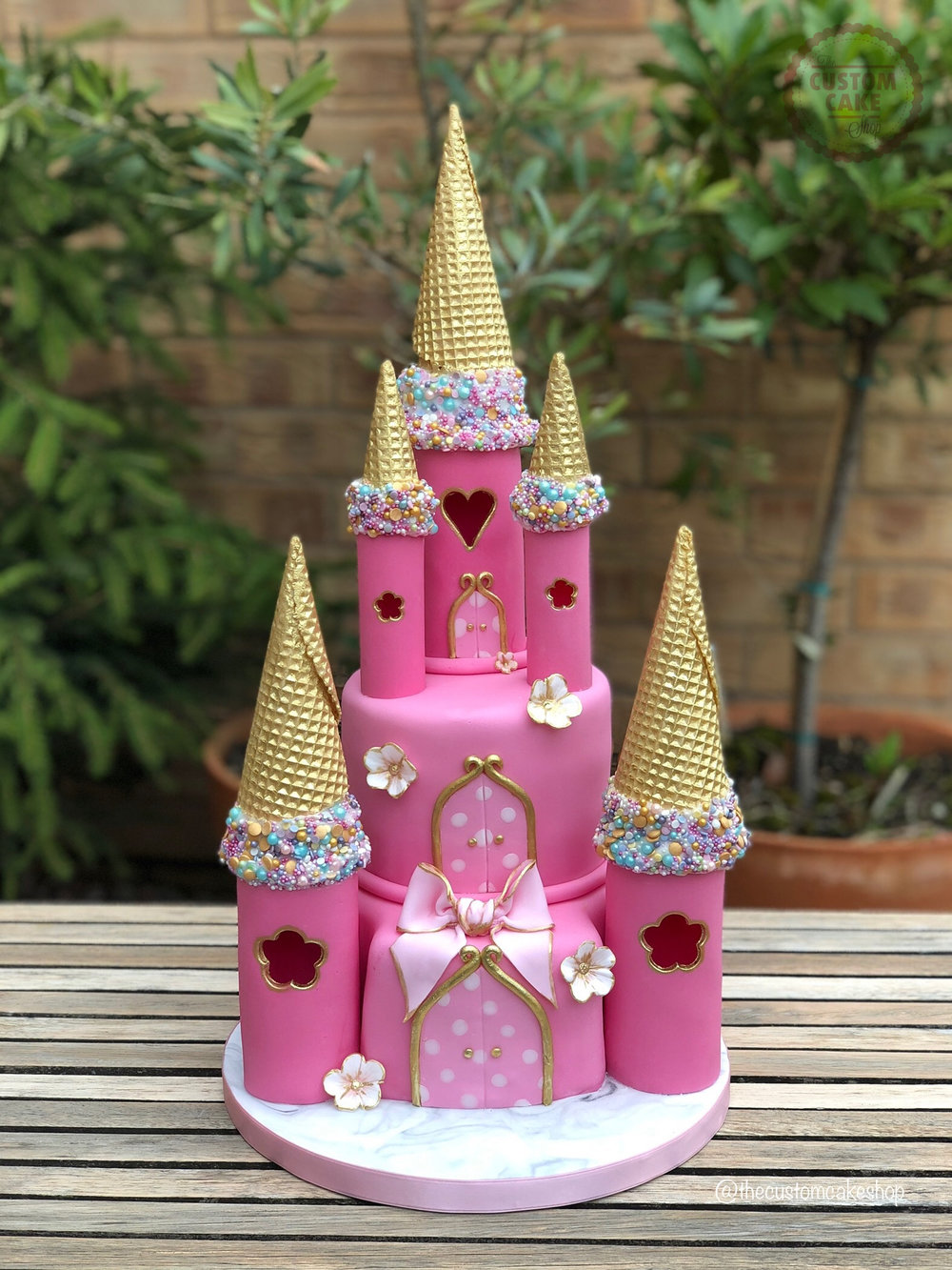 Fairytale Castle Princess Birthday Cake