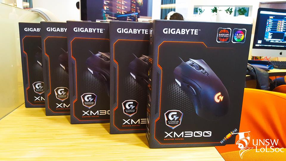Thank you GIGABYTE Xtreme Gaming for these awesome XM300 Gaming Mouses for our winners!