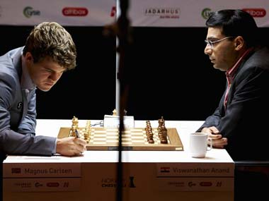 Carlsen - Anand