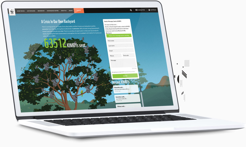 View WWF – Kimby website